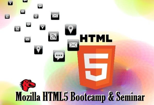 Mozilla HTML5 Bootcamp & Seminar